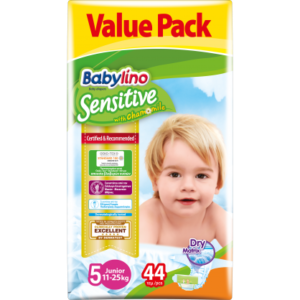 Πάνες Babylino Sensitive Value Pack No5 (11-25Kg) 44τεμ